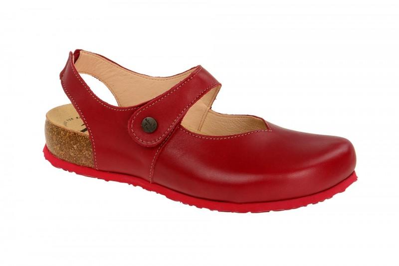 Think JULIA bequeme Pantolette für Damen in rot