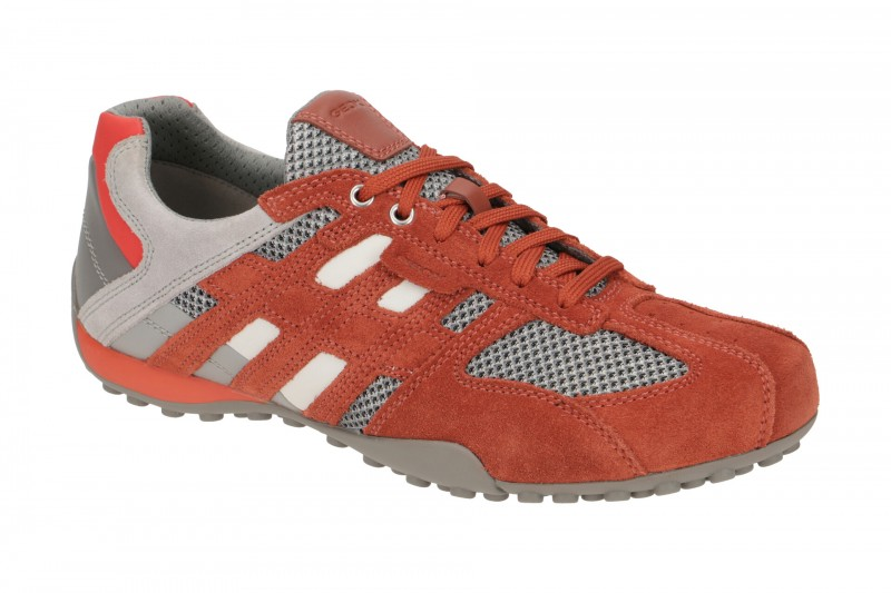 Geox SNAKE Sneakers für Herren in orange
