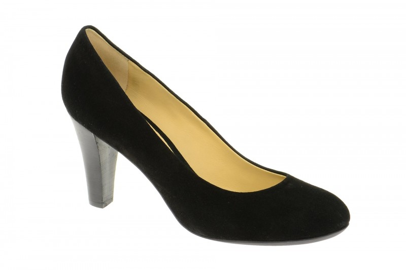 Geox Respira Mariele High Pumps in schwarz suede
