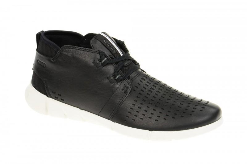Ecco INTRINSIC 1 sportliche Halbschuhe für Damen in schwarz