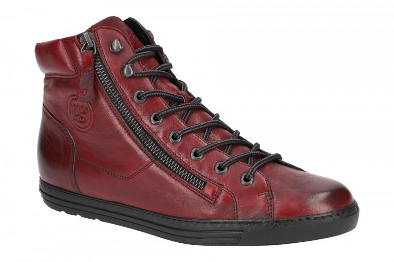Paul Green 4675 sportliche Stiefelette für Damen in rot