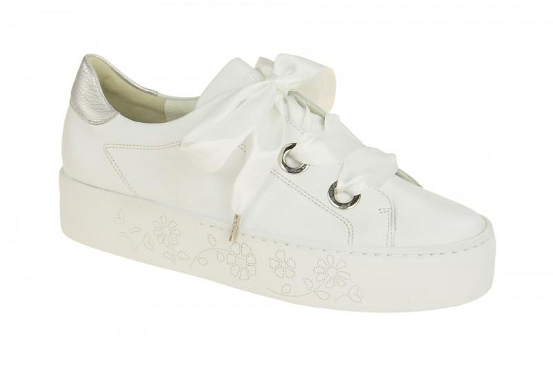 Paul Green 4621 Sneakers für Damen in weiß