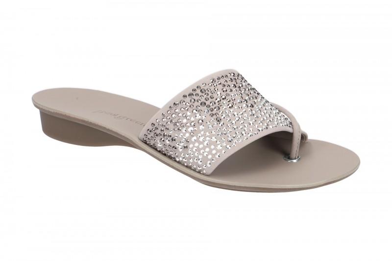Paul Green 6049 Pantoletten für Damen in grau