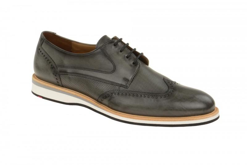 Lloyd ODIL elegante Halbschuhe und Schnürschuhe für Herren in grau