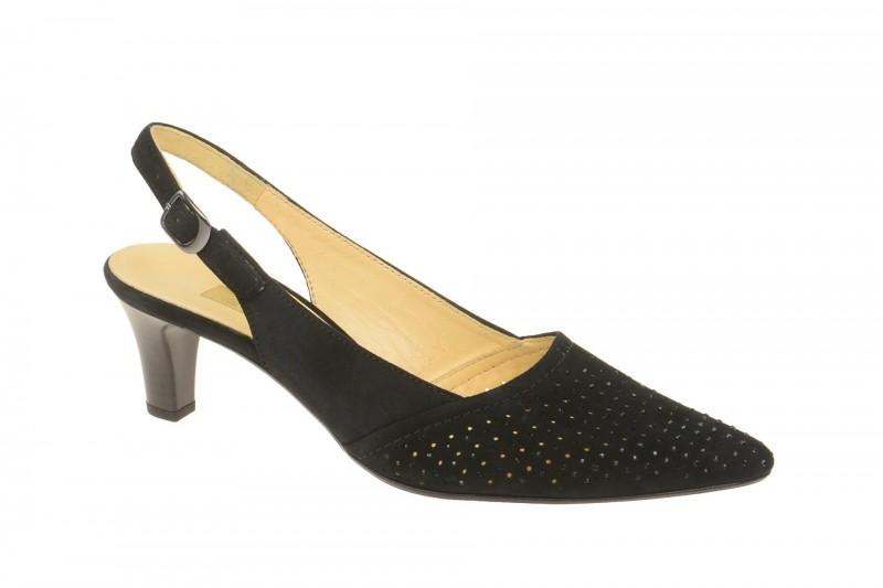 Gabor 61.551 Sling Pumps für Damen in schwarz