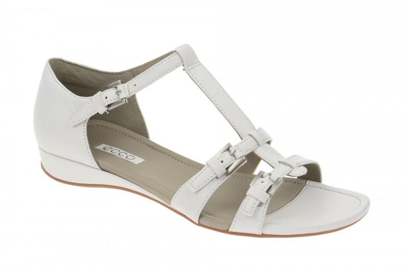 Ecco Bouillon Riemchen Sandale für Damen in weiß