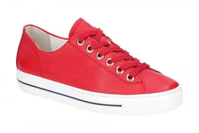 Paul Green 4704 Sneakers für Damen in rot