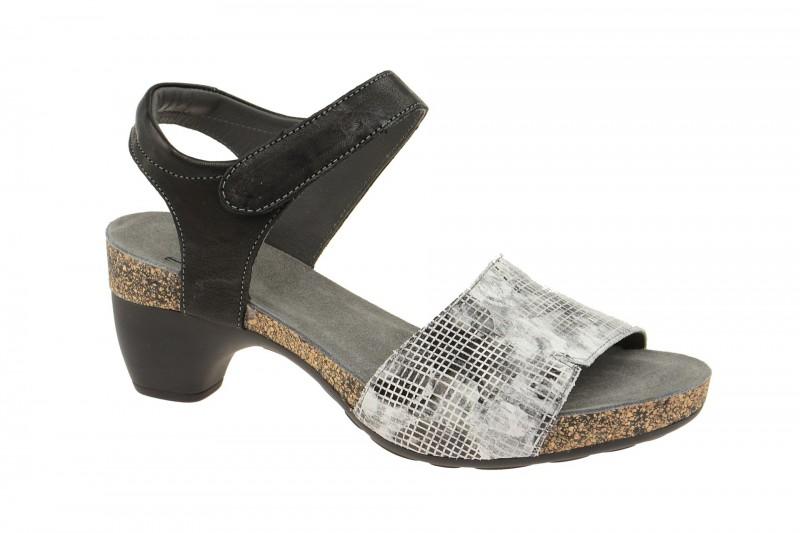 Think TRAUDI Riemchen Sandale für Damen in weiß