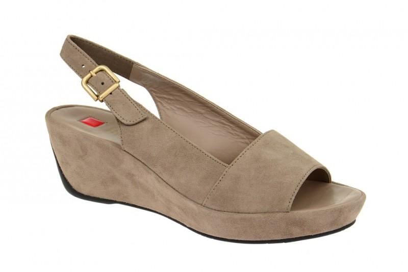 Högl 3622 Riemchen Sandale für Damen in grau