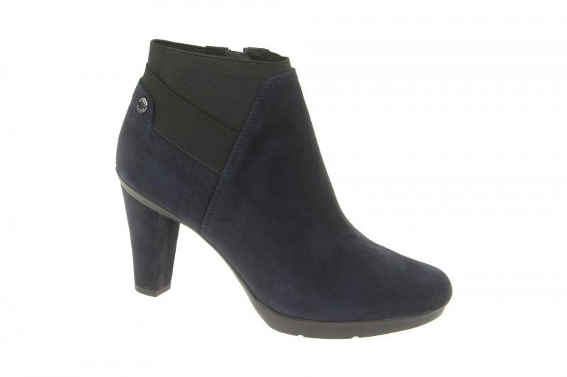 Geox Respira Inspiration Stiefeletten in dunkelblau High-Heels