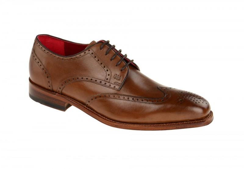 Gordon & Bros. HAVRET Rahmengenähte Schuhe für Herren in braun