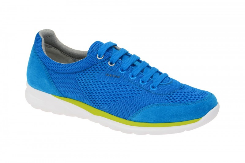 Geox Respira Damian B Sneakers in hellblau Herrenschuhe