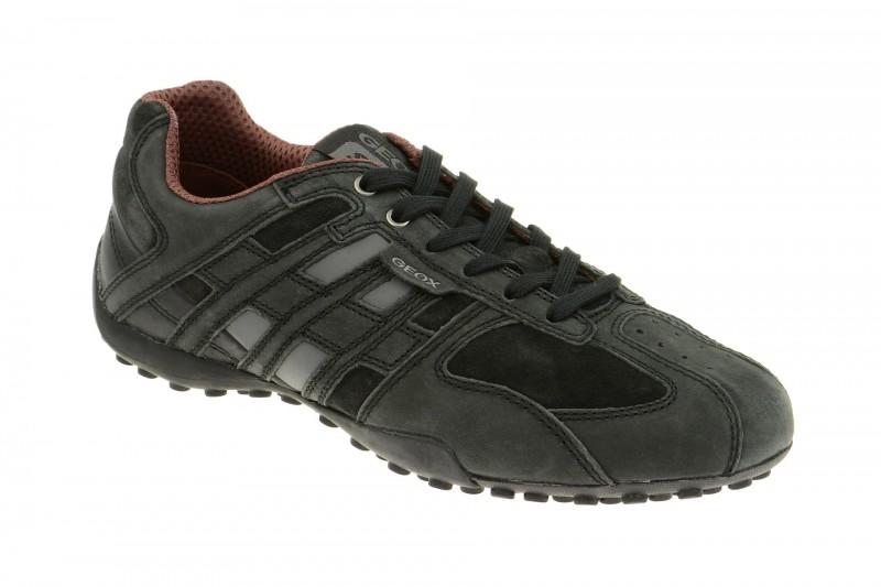 Geox Respira Snake K Sneaker in schwarz Herren Halbschuhe