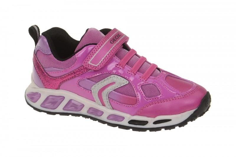 Geox Respira Shuttle Girl Kinder Schuhe in pink Mädchen