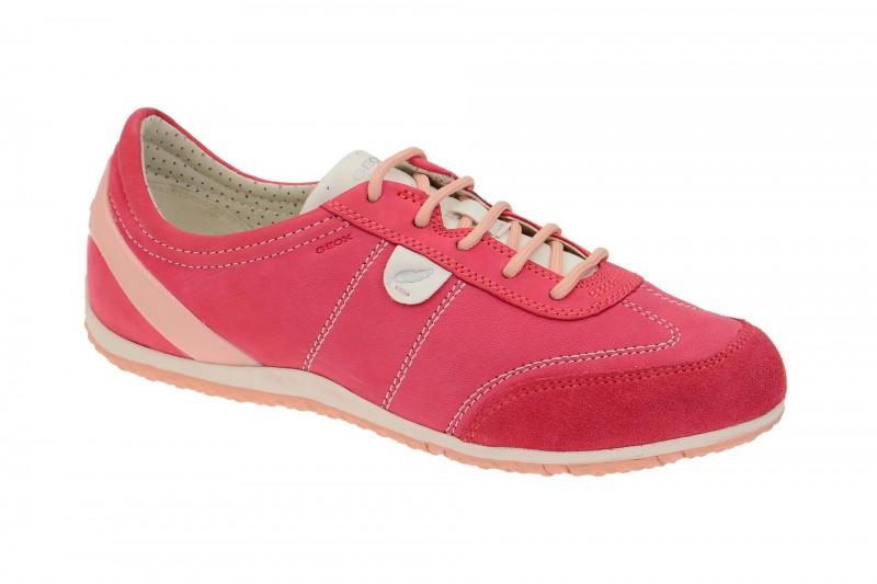 Geox Respira Vega A Sneakers in pink Damenschuhe