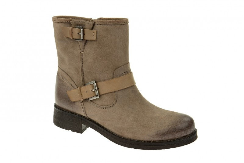 Geox Respira New Virna Stiefeletten in taupe beige Damen Boots