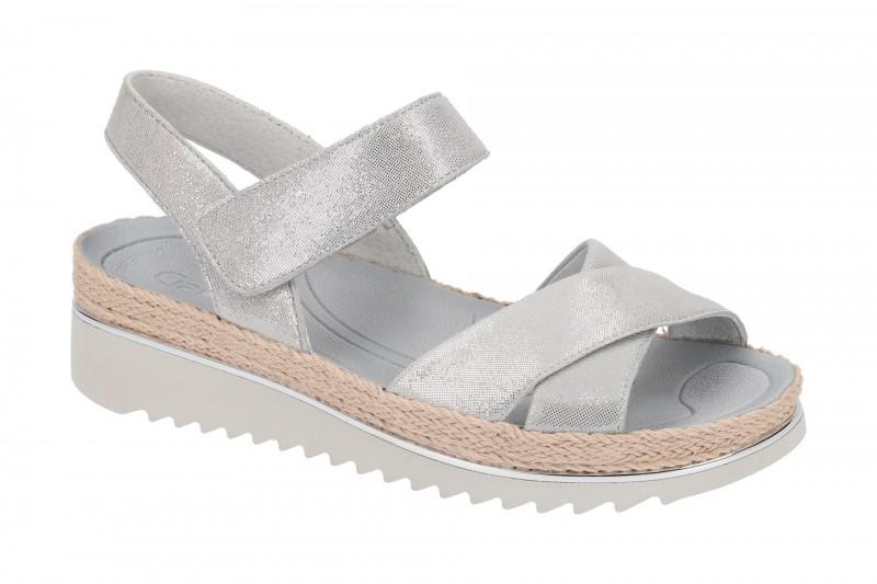 Gabor 83.728 Riemchen Sandale für Damen in grau