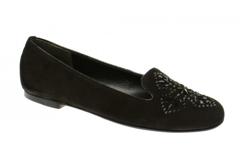 Kennel & Schmenger BEA elegante Slipper für Damen in schwarz