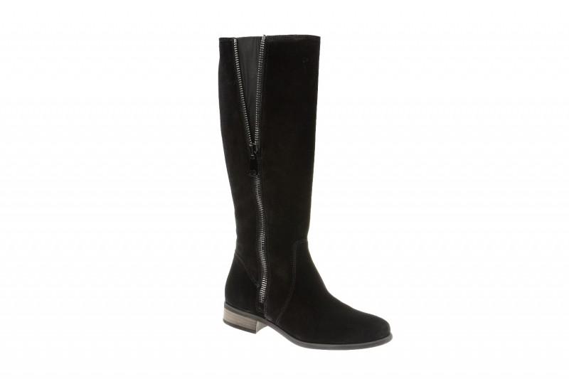 Paul Green 8551 elegante Stiefel für Damen in schwarz