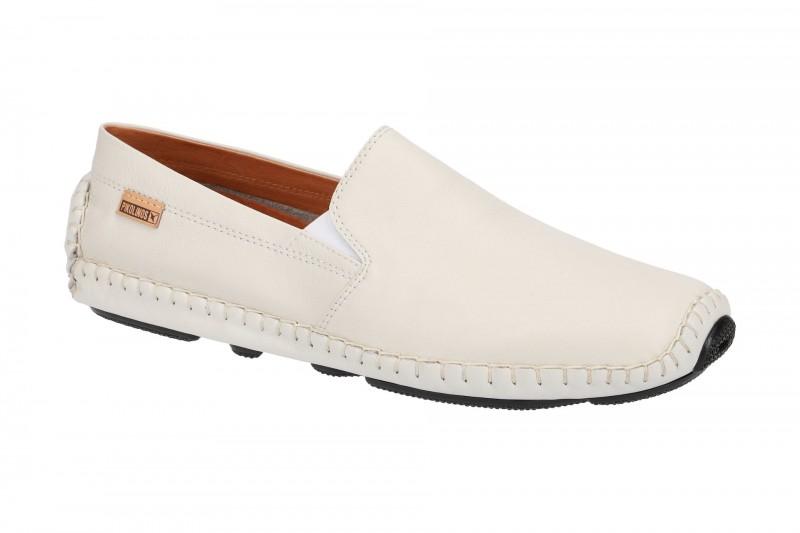 Pikolinos JEREZ bequeme Slipper für Herren in weiß