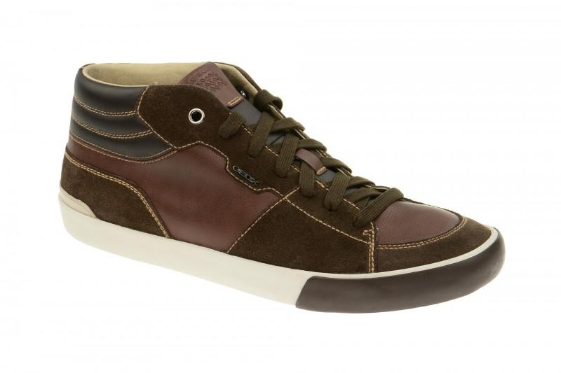 Geox Respira Smart A Sneakers in dunkelbraun Herrenschuhe