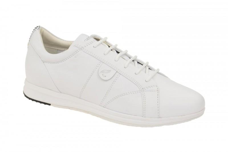 Geox Respira Avery A Sneaker in weiß Damenschuhe