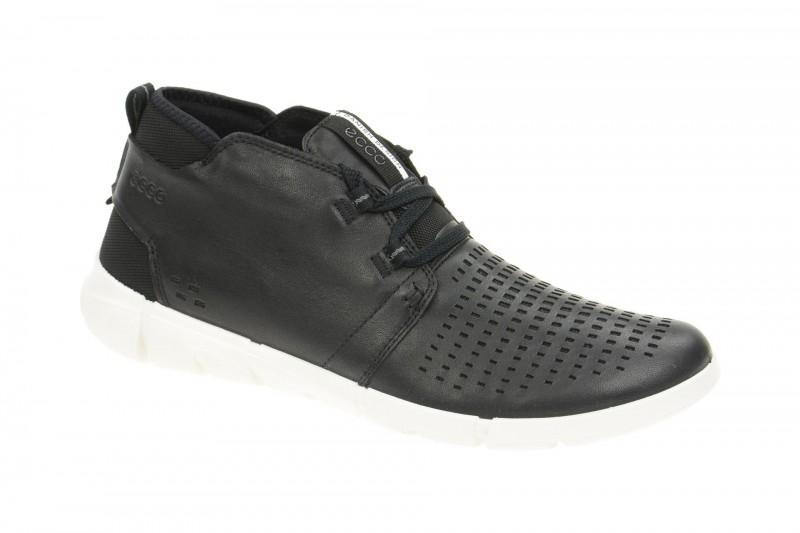 Ecco INTRINSIC 1 sportliche Halbschuhe für Herren in schwarz