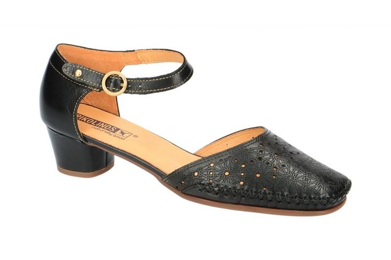 Pikolinos GOMERA Riemchen Sandale für Damen in schwarz