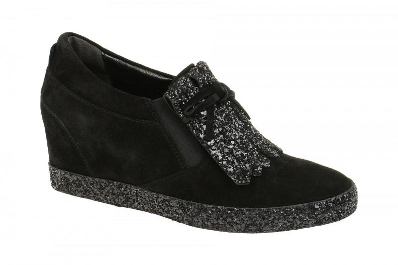 Kennel & Schmenger LIBERTY elegante Slipper für Damen in schwarz