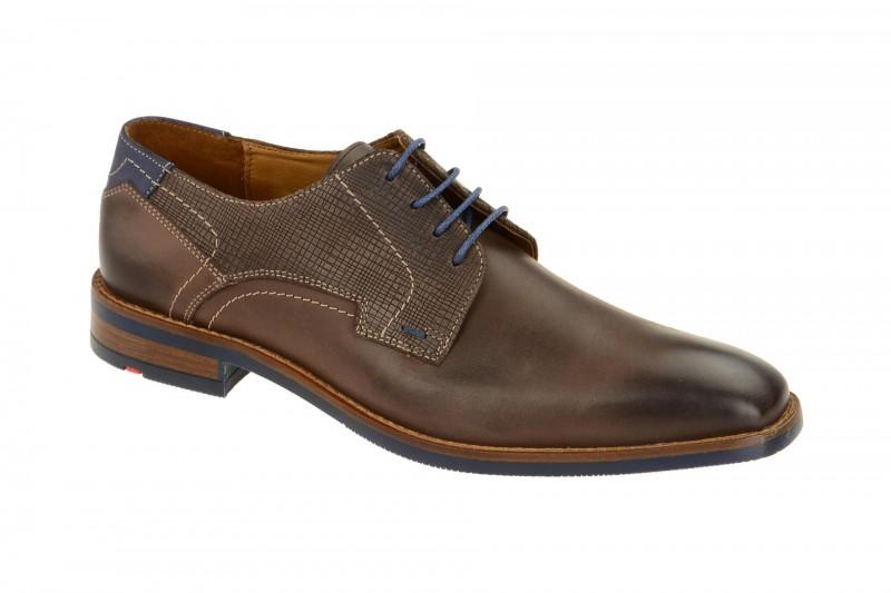 Lloyd IKE elegante Halbschuhe und Schnürschuhe für Herren in dunkel-braun