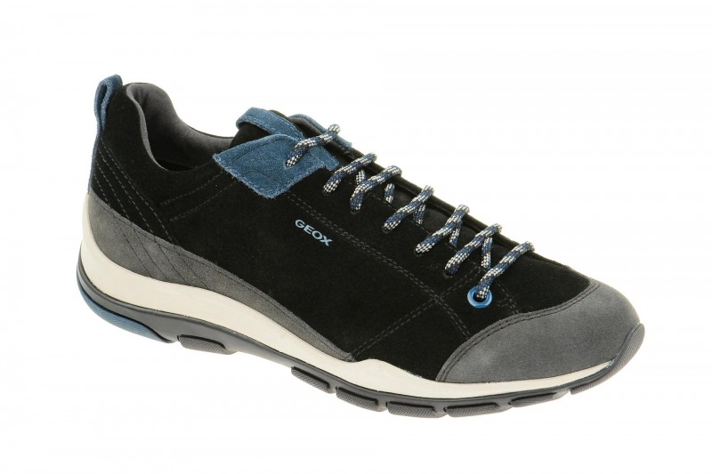 Geox Respira Kander Schuhe in schwarz Damen Halbschuhe