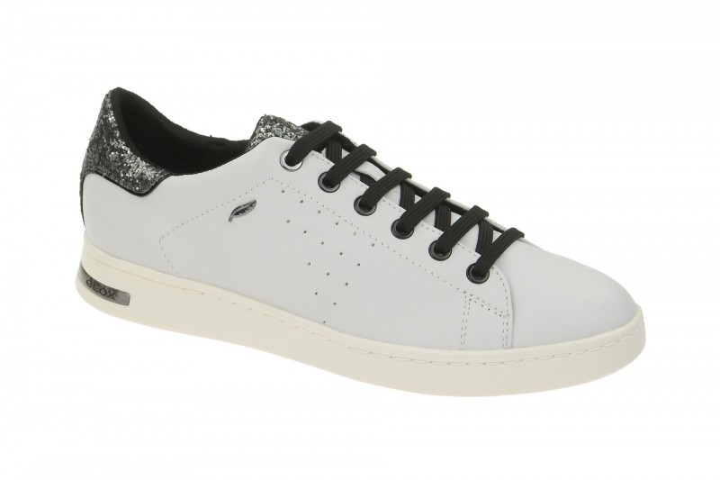 Geox Respira Jaysen A Damenschuhe in weiß Sneakers
