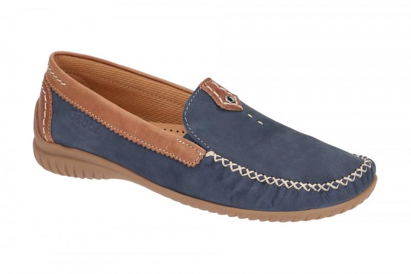 Gabor FLORENZ bequeme Slipper für Damen in blau