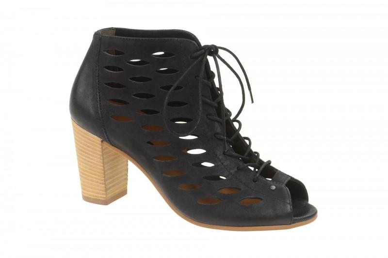 Paul Green 6472 Sandalette für Damen in schwarz