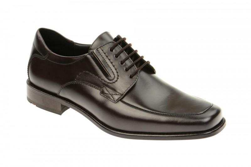 Lloyd KELTON elegante Halbschuhe und Schnürschuhe für Herren in dunkel-braun