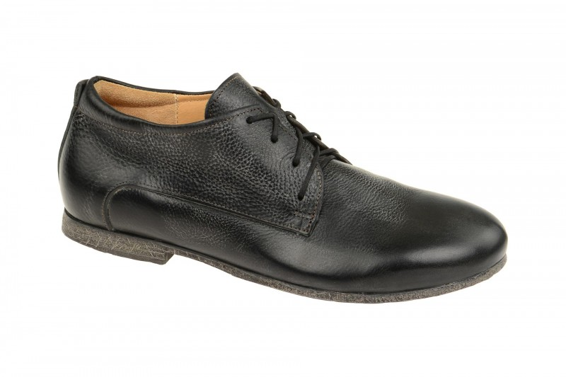 Think BEGWEM elegante Halbschuhe und Schnürschuhe für Herren in schwarz