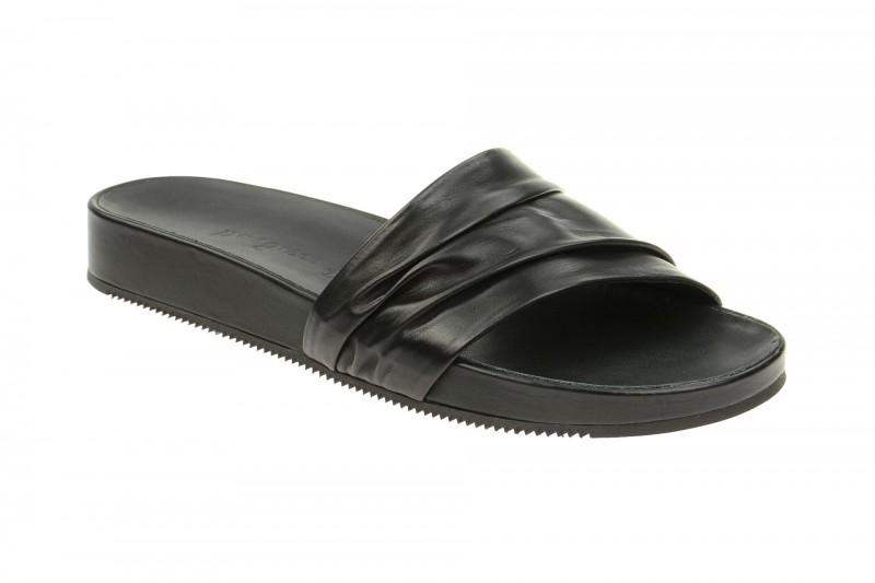 Paul Green 6553 elegante Pantolette für Damen in schwarz