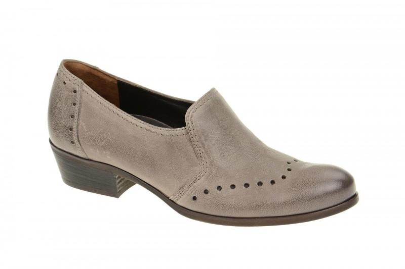 Paul Green 1740 elegante Slipper für Damen in grau