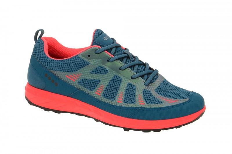 Ecco TERRA TRAIL sportliche Halbschuhe für Damen in blau