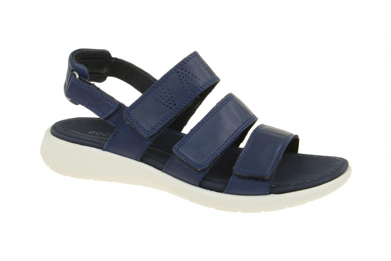 Ecco SOFT 5 Sandalette für Damen in dunkel-blau