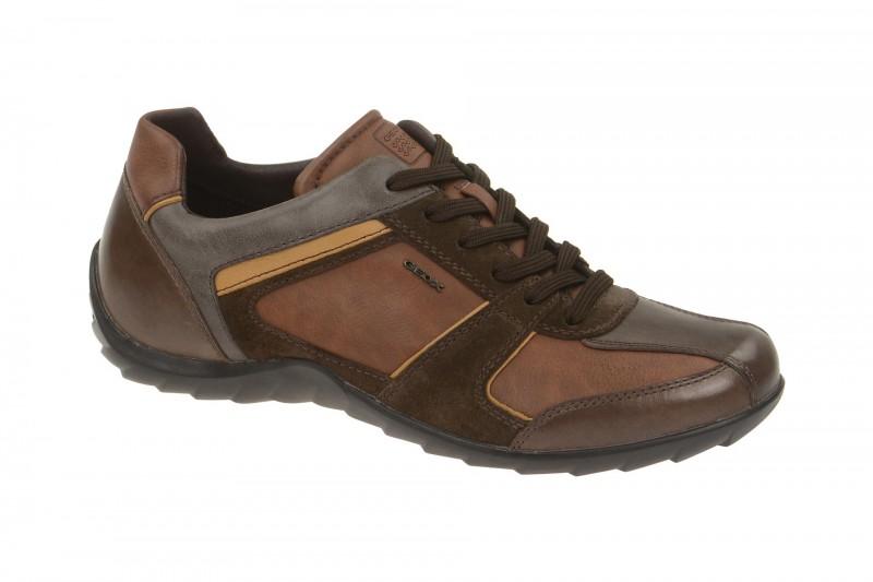 Geox Respira Pavel B Sneakers im braun mix Herrenschuhe