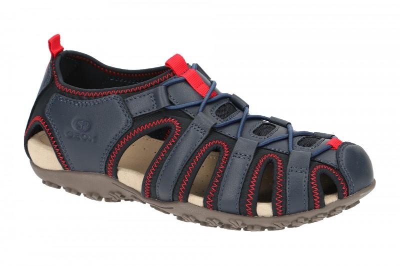 Geox SAND.STREL Outdoor Sandale für Damen in dunkel-blau