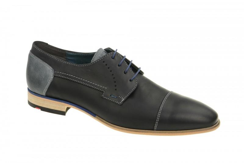 Lloyd DONNELLY elegante Halbschuhe und Schnürschuhe für Herren in schwarz