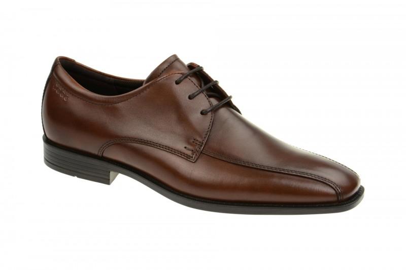 Ecco EDINBURGH elegante Halbschuhe und Schnürschuhe für Herren in braun