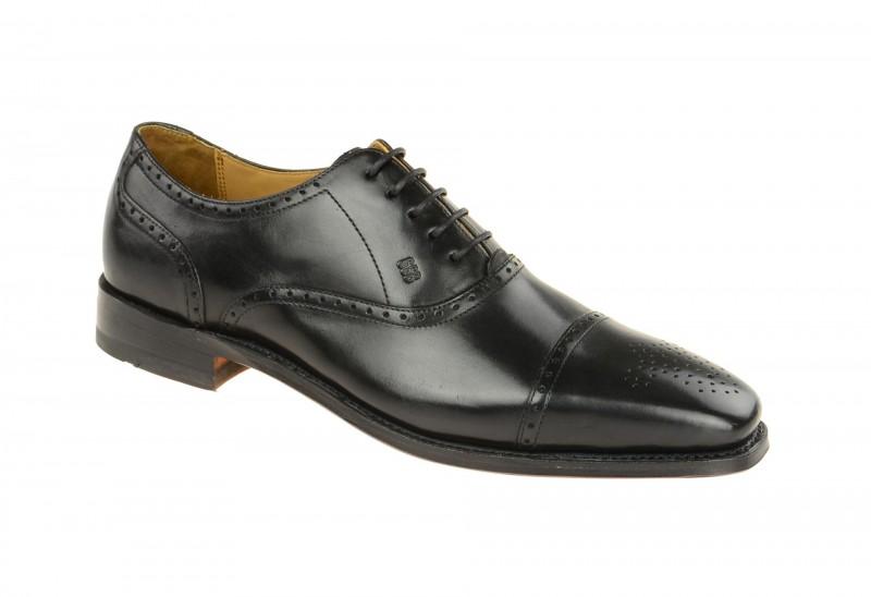 Gordon & Bros. LUCQUIN Rahmengenähte Schuhe für Herren in schwarz
