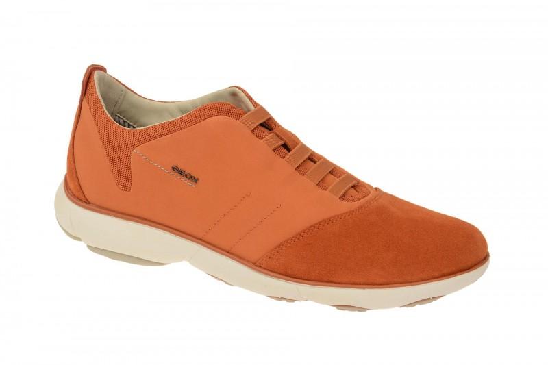 Geox Respira Nebula B Sneakers in orange Herren Halbschuhe