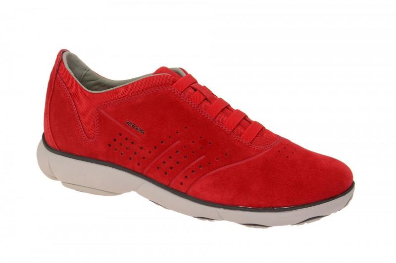 Geox Respira Nebula A Slippers in rot Herren Sneakers