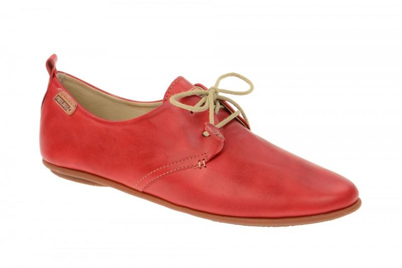 Pikolinos CALABRIA bequeme Halbschuhe für Damen in rot