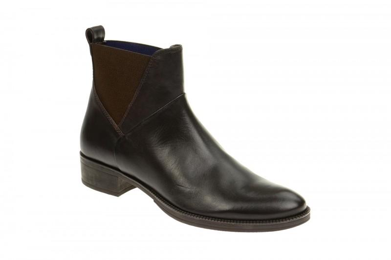 Geox Respira Mendi D Ankle-Boots in dunkelbraun Damen Stiefelette