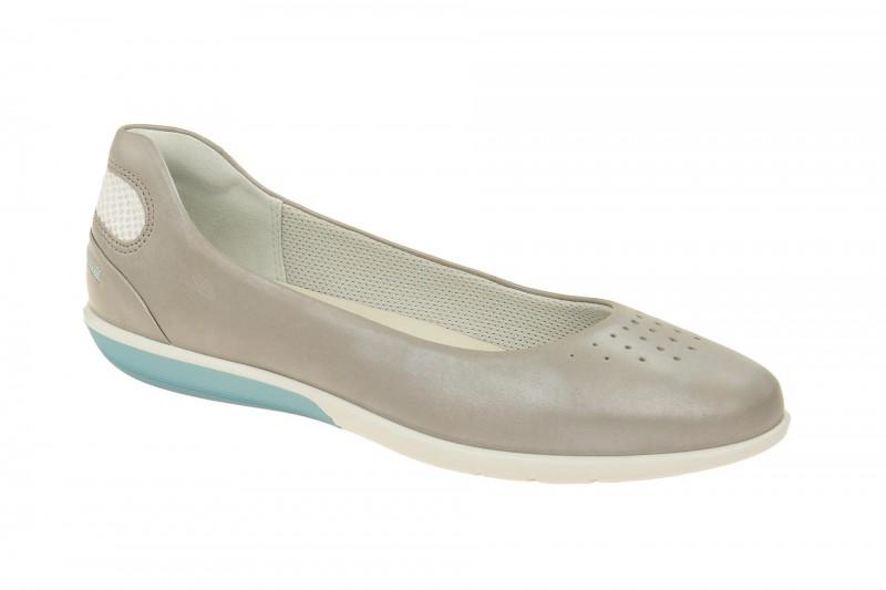 Ecco SENSE LIGHT Ballerina - Halbschuhe - Slipper für Damen in grau